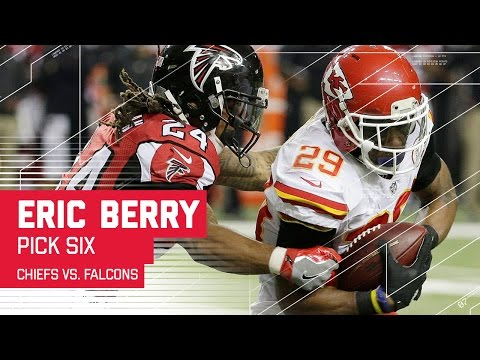 Eric Berry Picks Off Matt Ryan & Takes it to the House! | Chiefs vs. Falcons | NFL