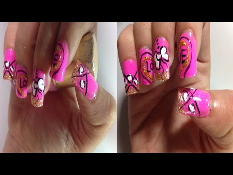 Pretty Cute Nail Art Designs | Simple Easy Nail Art Paint Ideas (Part 3), Animals Nail Art