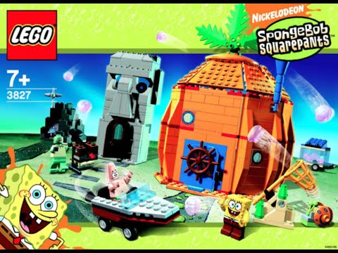How To Build Lego Spongebob Adventures In Bikini Bottom 3827