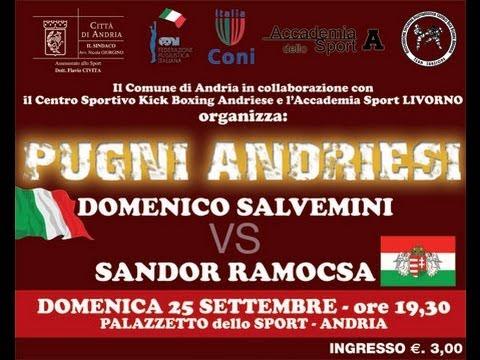 Domenico Salvemini vs Sandor Ramocsa – Andria, 25 settembre 2011