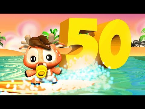 One to Fifty Numbers Song | Big Numbers Song | Educational Song for Kids by Little Treehouse
