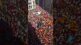 Manifestación en Barcelona: