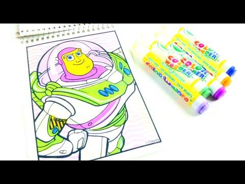 Toy Story juego Colorear ColorWonder de Crayola los mejores Videos ...