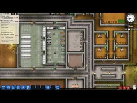 [3] Let's Play: Prison Architect! - Max Security [Accommodations and Intake]