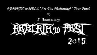 【REBIRTH to FEST 2015】 主催:REBIRTH to HELL(松山) 会場:松山サ...