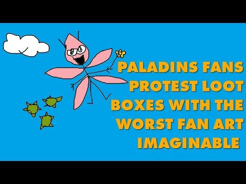Paladins Fans Protest 'Pay-To-Win' Loot Boxes With Hilarious Low-Effort Fan Art