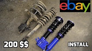 Video 200$ EBAY Coilovers for the S13 240sx download MP3, 3GP, MP4, WEBM, AVI, FLV Agustus 2018