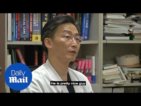 North Korea's wounded defector is a 'nice guy', says surgeon - Daily Mail