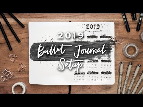 My 2019 Bullet Journal Setup