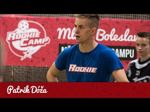 Rozhovor s Patrikem Dóžou na Rookie Campu v Mladé Boleslavi