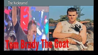 Why Is Tom Brady Called The Goat?