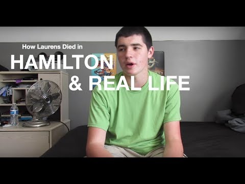 How Laurens Died In Hamilton And Real Life