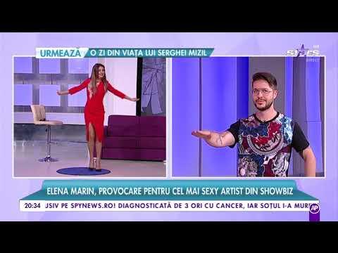 Elena Marin, provocare pentru George, cel mai sexy artist din showbiz!