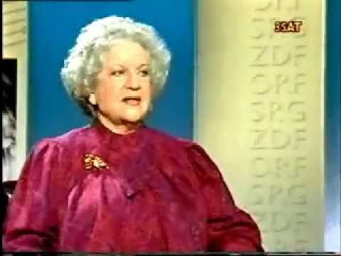 Astrid Varnay  Da Capo   with August Everdingm 1988