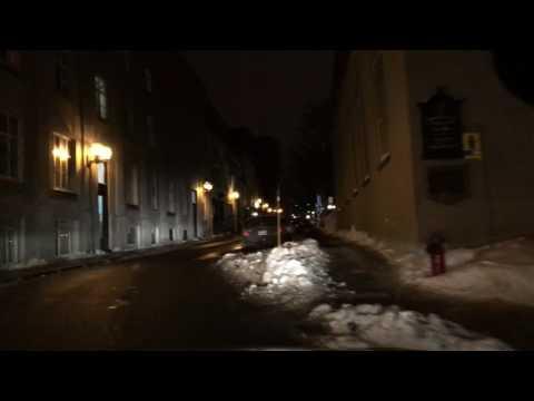 Quebec City, Canada at night