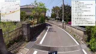 【自転車旅行】2012/05/05(土) part1 長門~黄波戸峠~伊上駅
