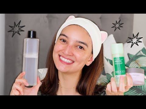 my SIMPLIFIED korean skincare routine!!  only 5 steps :)