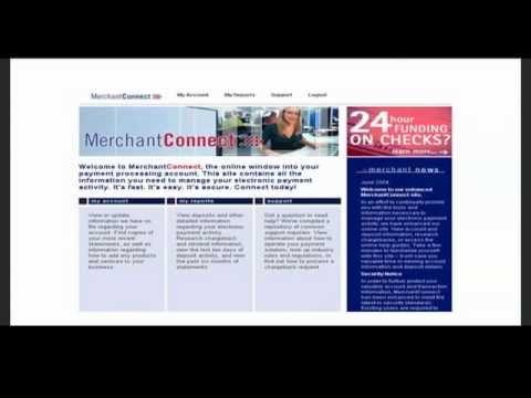 MerchantConnect Reporting Demo