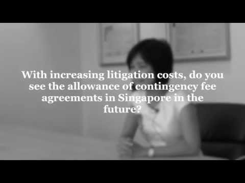 Do you see the allowance of contingency fees in Singapore in the future?