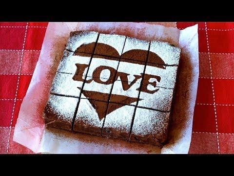 NO-BAKE Chocolate Cake for Valentine's Day バレンタインに生チョコケーキ - OCHIKERON - CREATE EAT HAPPY