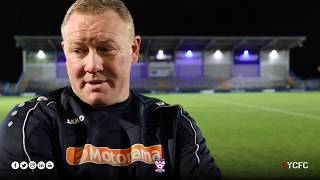 Curzon Ashton 1-0 York City | Steve Watson Post-Match