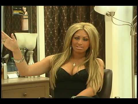 Трейси страстная блондинка.