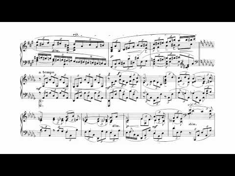 Rachmaninoff: Piano Concerto #3 (Weissenberg 1968) [with score]