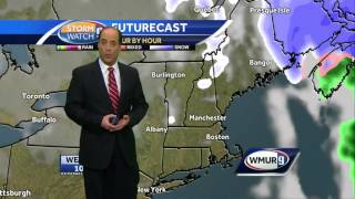 Bitterly cold weather overnight