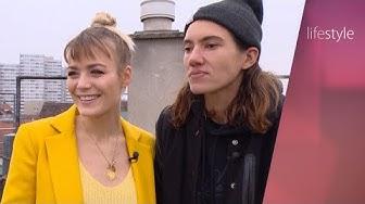 "Dominique Rinderknecht & Tamy Glauser bei ""Lifestyle"""
