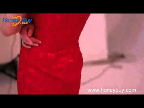 one-shoulder-mini-sheath-handmaded-flowers-lace-red-prom-dress-2013
