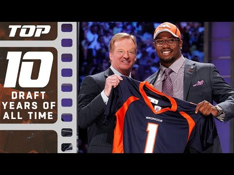 Top 10 Draft Years of All Time | NFL Films
