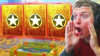 THE BEST SUPPLY DROP OPENING!! (x160 COD WW2 Supply Drops)