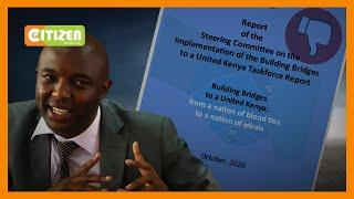 Irungu Kang'ata warns President Kenyatta of BBI unpopularity in Mount Kenya