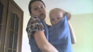Как сделать валик для поддержки головы ребенка в слинге