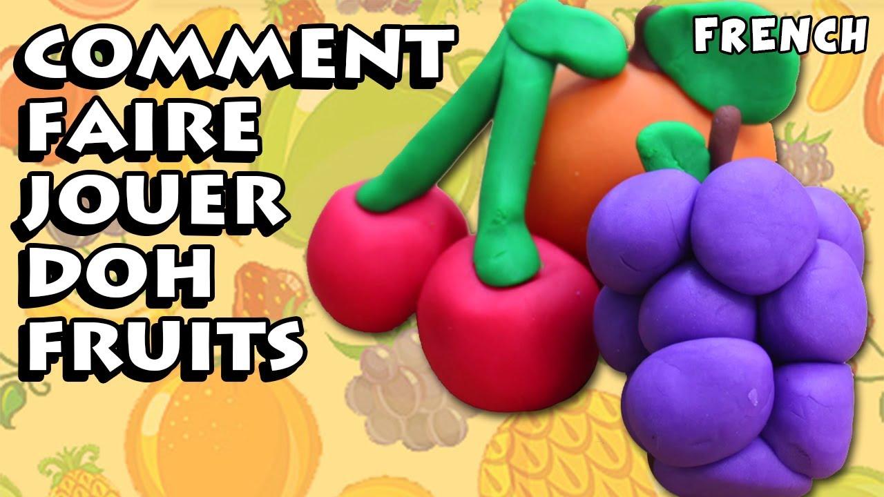 comment faire fruits avec la p 226 te 224 modeler how to make play doh fruits diy