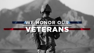 Today We Honor Our Veterans