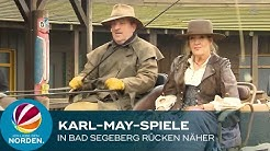 Karl-May-Spiele in Bad Segeberg: Sascha Hehn und Katy Karrenbauer an der Seite von Winnetou
