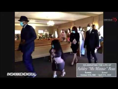 """Little Women Atlanta - Ashley """"Ms Minnie"""" Ross' Funeral Service + Resting Place ( Tiny Twins & Mom)"""