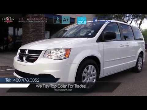 2014 Dodge Grand Caravan Se Van Luxury Motorsports 15014a Youtube