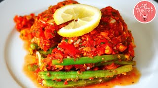 How To Cook Cod- Baked Cod Fillet In Tomato Sauce - Треска запеченная в томатном соусе