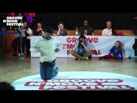 GROOVE'N'MOVE BATTLE 2017 - 1/4 Final All Style - Alfreda & Jerson vs Girl Mainevent & Yohann