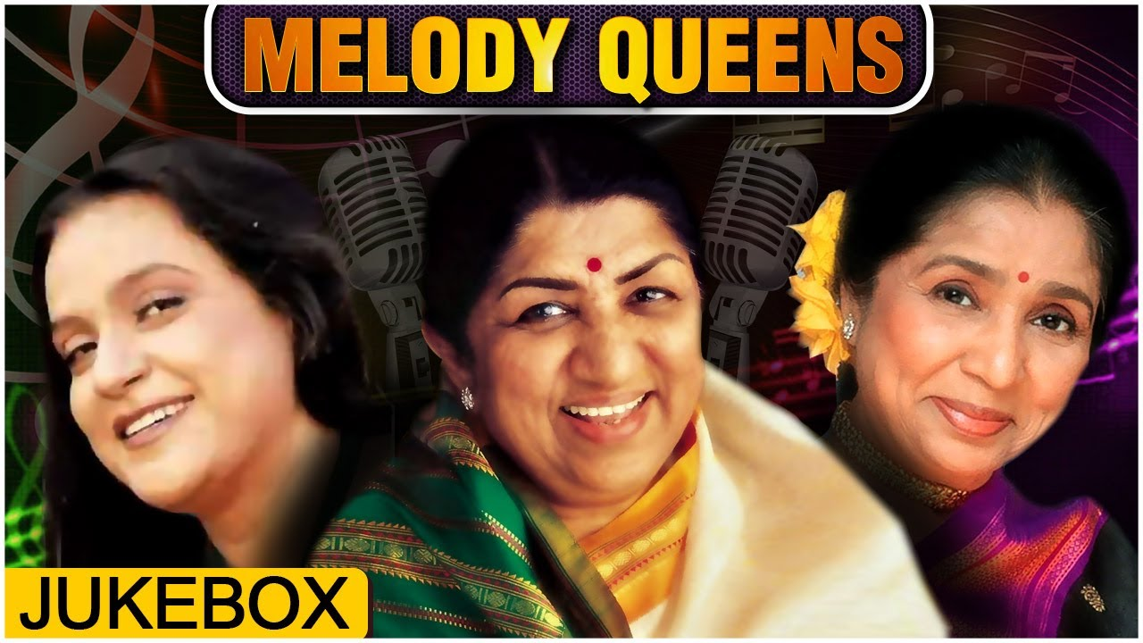 Bollywood Melody Queens | Lata Mangeshkar, Asha Bhosle, Hemlata | Old Hindi Songs