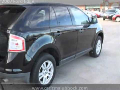 2007 ford edge used cars lubbock tx youtube for Carizma motors lubbock tx