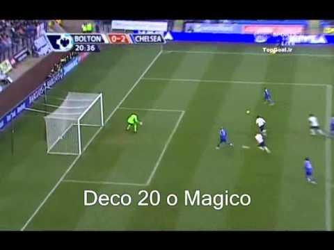 Deco Bicycle Kick Goal Vs Bolton