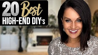 ⭐️Absolute TOP 20 BËST High End Decor DIY Ideas on a BUDGET!