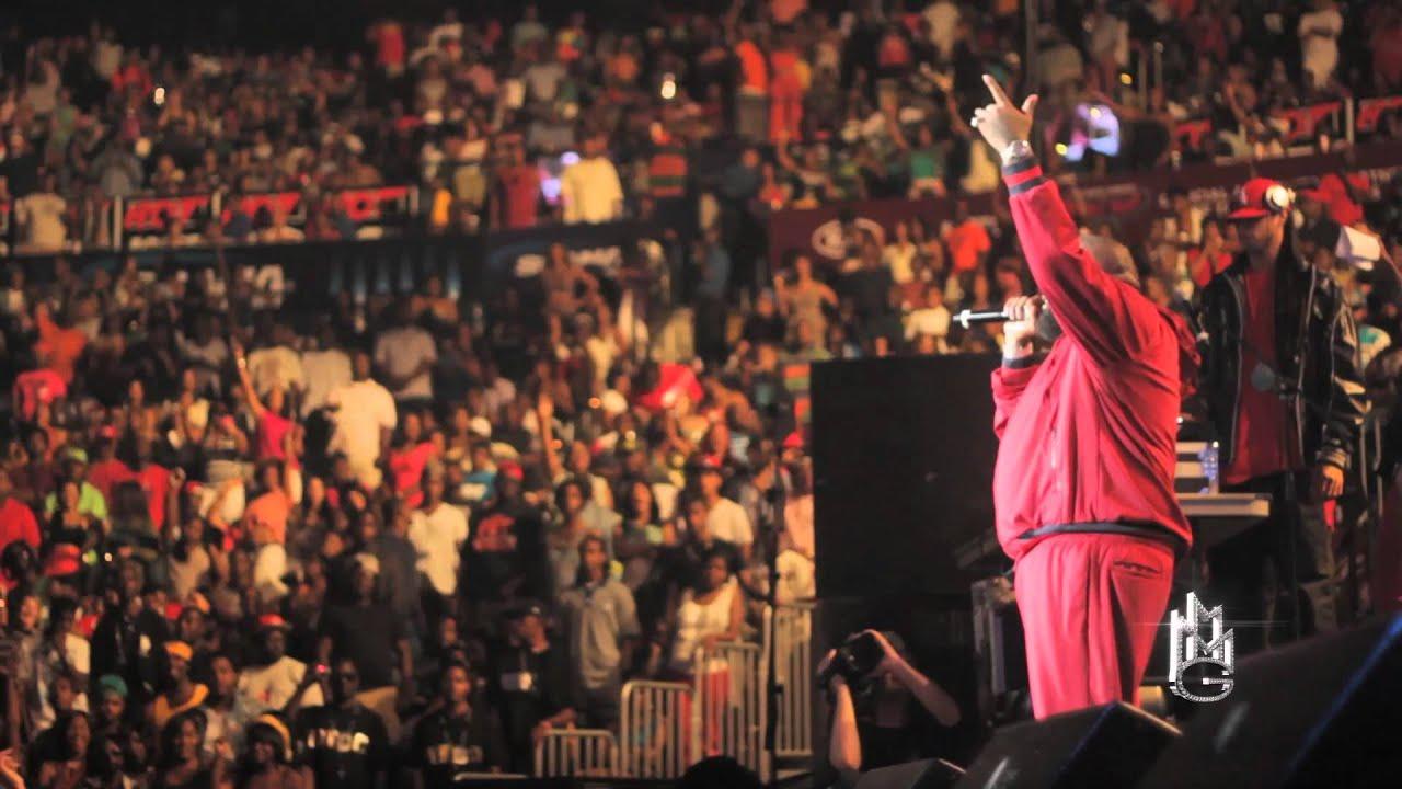 Rick Ross At Atlanta S Hot 107 9 Birthday Bash 2012 Youtube