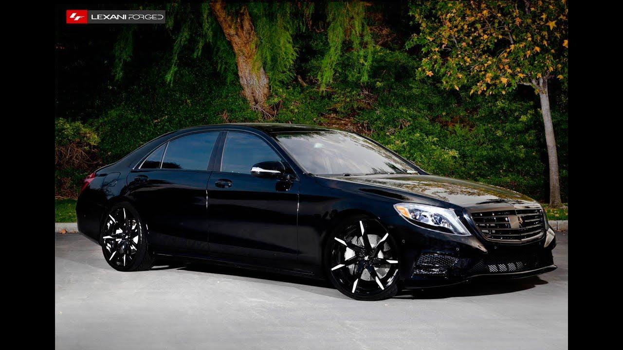 Mercedes S550 on 22 Lexani Forged Wheels Pt 1  YouTube