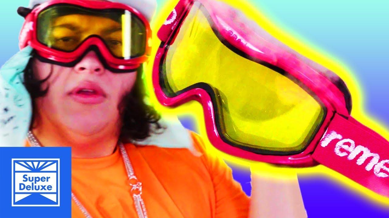 Supreme Ski Goggles | Cheap Thrills | Tatered - YouTube