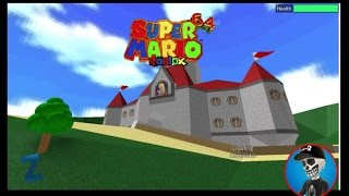 Roblox Super Mario 64 Roblox Edition!(First Floor Open!)