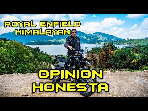 ROYAL ENFIELD HIMALAYAN OPINION HONESTA - PAISAMOTERO